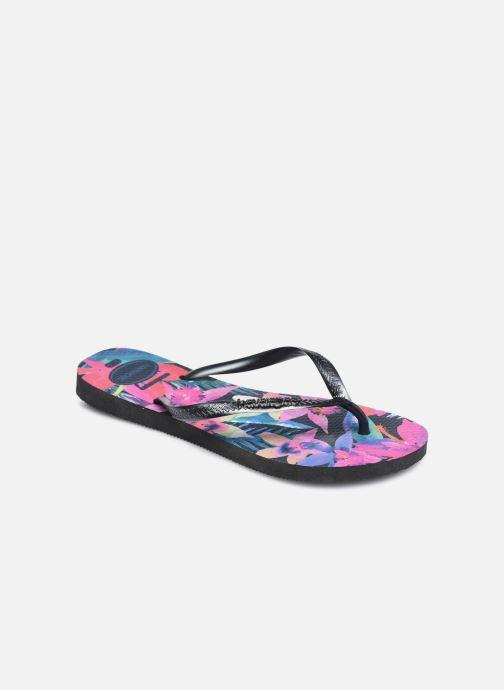 Chanclas Havaianas Slim Tropical Multicolor vista de detalle / par