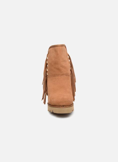 Bottines et boots Colors of California Evelina Marron vue portées chaussures