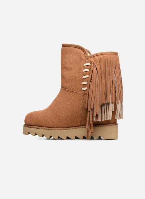 Bottines et boots Colors of California Evelina Marron vue face
