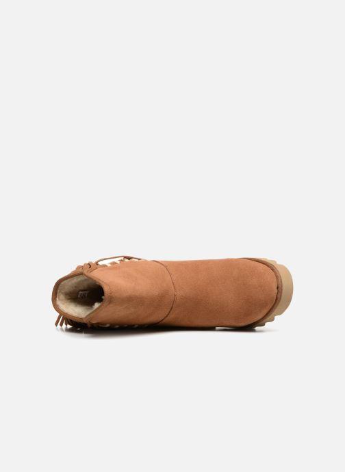 Bottines et boots Colors of California Evelina Marron vue gauche