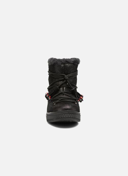 Bottines et boots Colors of California Fiore Noir vue portées chaussures