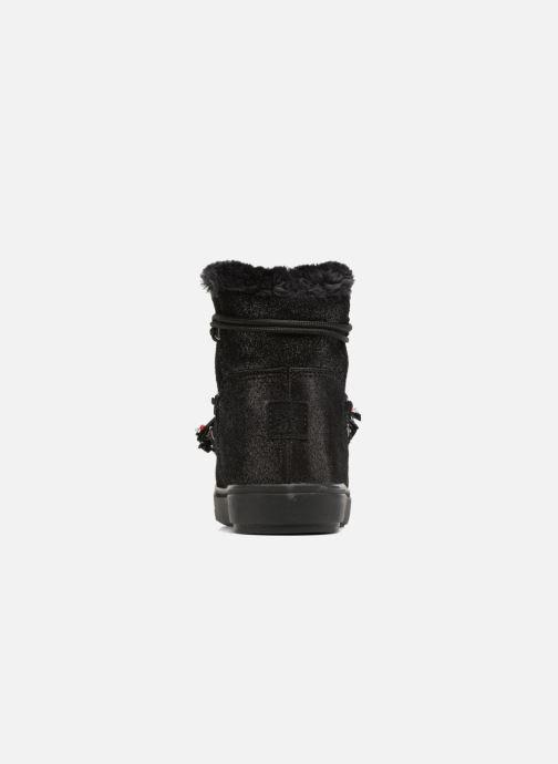 Bottines et boots Colors of California Fiore Noir vue droite