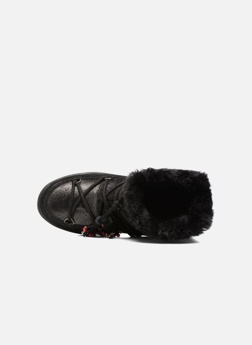 Bottines et boots Colors of California Fiore Noir vue gauche