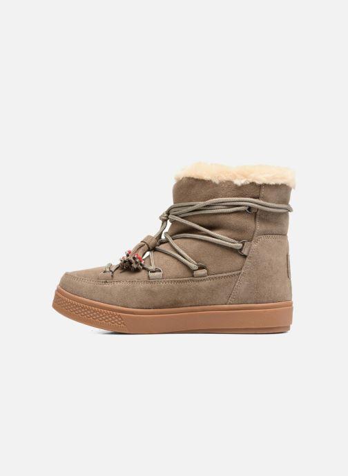 Boots en enkellaarsjes Colors of California Fiore Beige voorkant