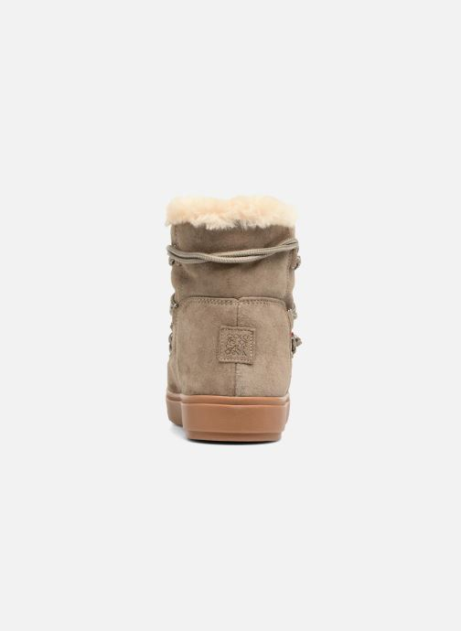 Boots en enkellaarsjes Colors of California Fiore Beige rechts