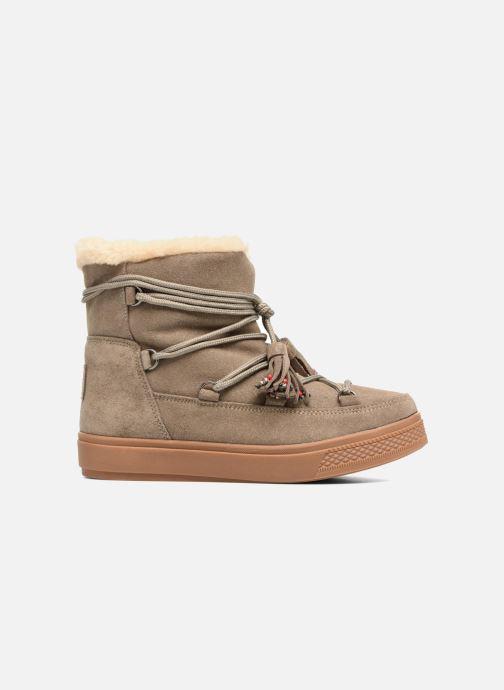 Boots en enkellaarsjes Colors of California Fiore Beige achterkant