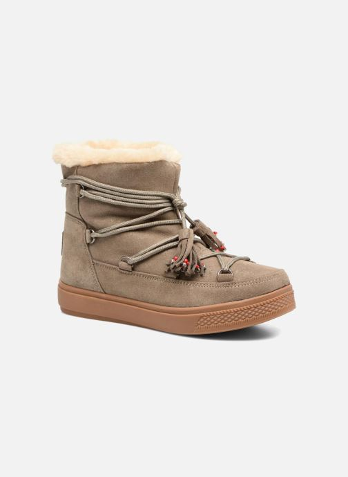 Bottines et boots Colors of California Fiore Beige vue détail/paire