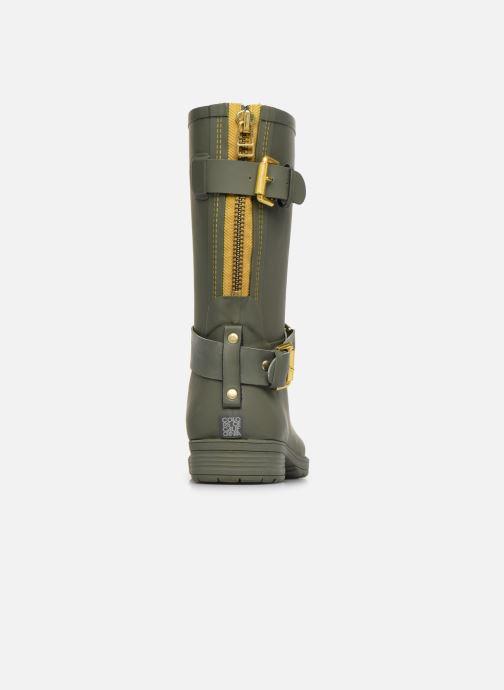 Bottines et boots Colors of California Greta Vert vue droite