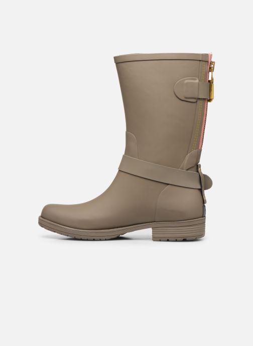 Boots en enkellaarsjes Colors of California Greta Bruin voorkant