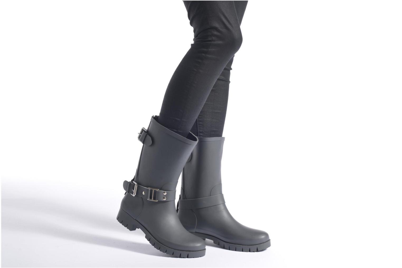 Bottines et boots Colors of California Greta Noir vue bas / vue portée sac
