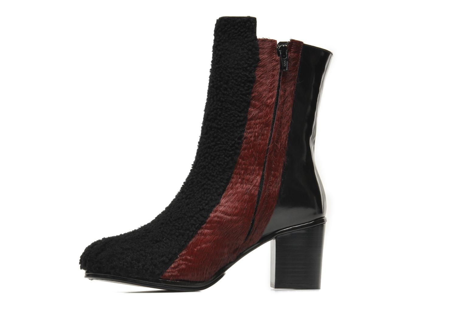 Bottines et boots Opening Ceremony Elise Boot Bordeaux vue face