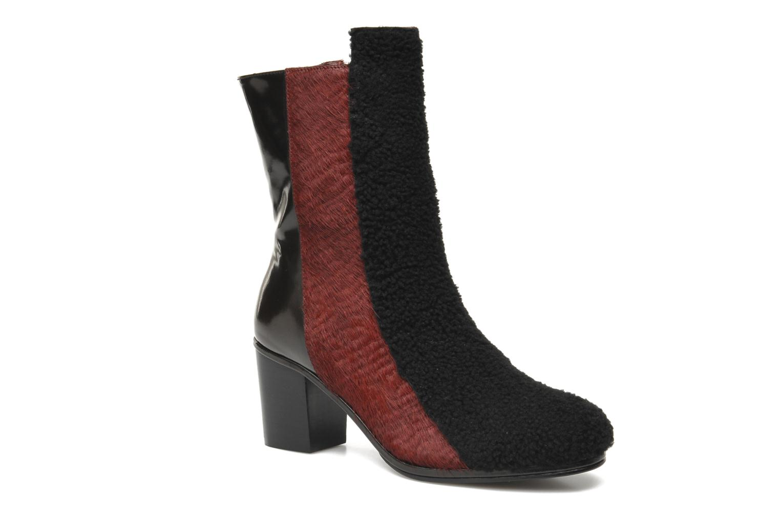 Bottines et boots Opening Ceremony Elise Boot Bordeaux vue détail/paire
