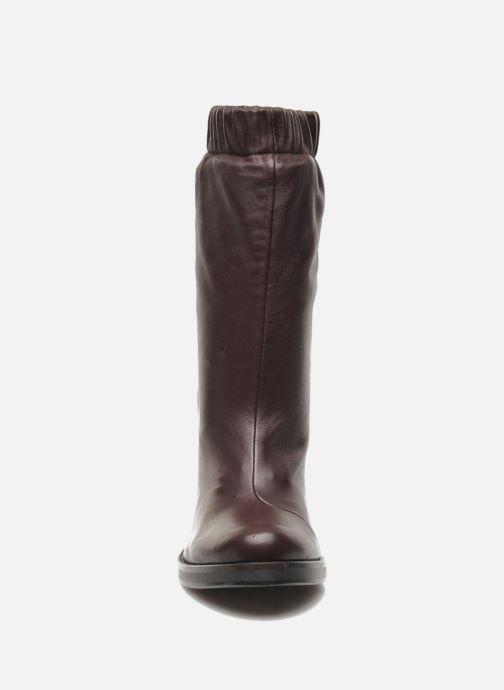 Bottines et boots Opening Ceremony Lucie Mid Boot Bordeaux vue portées chaussures