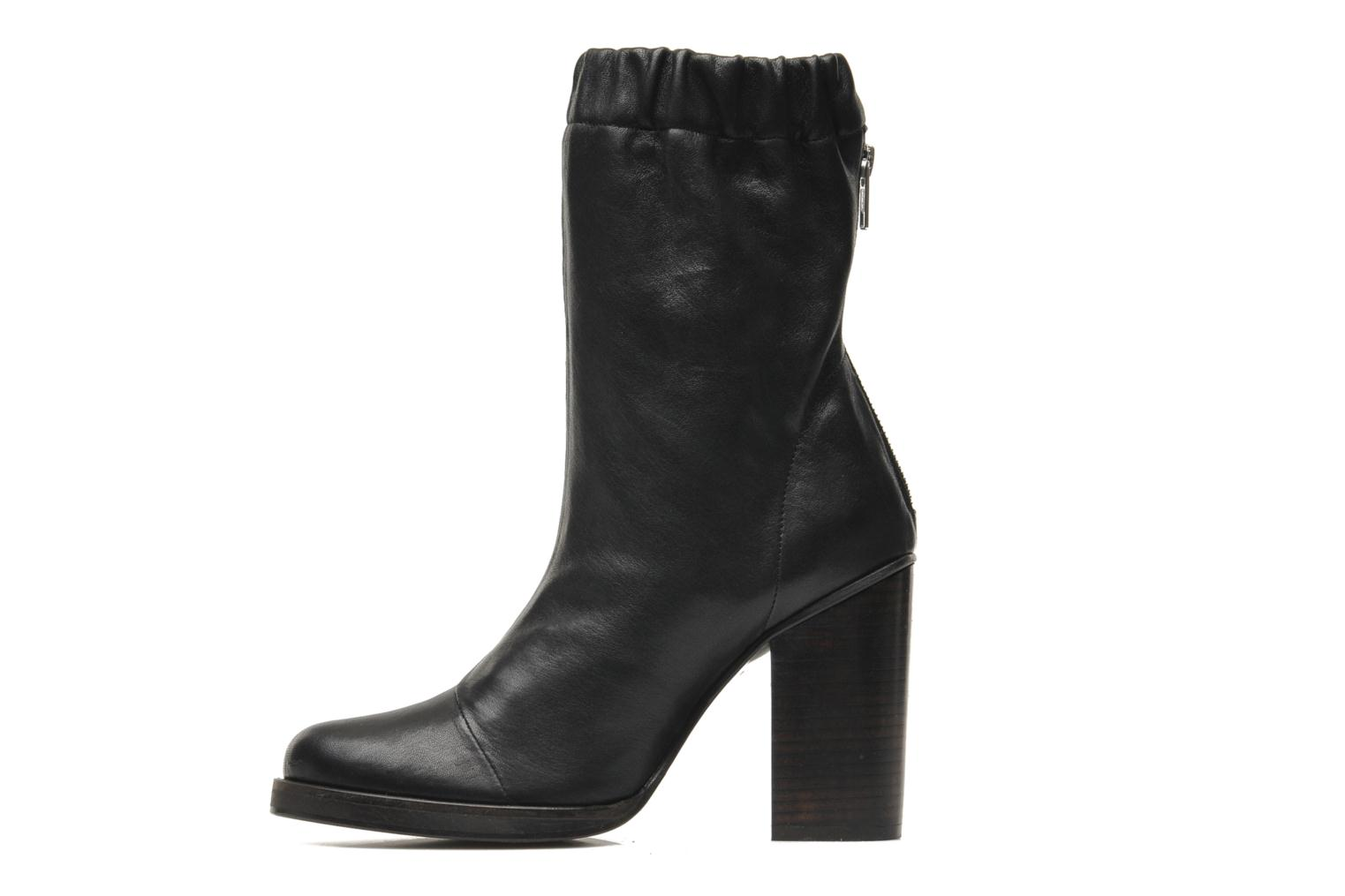Bottines et boots Opening Ceremony Lucie Mid Boot Noir vue face