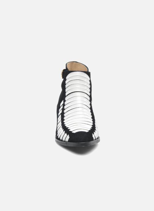 Bottines et boots MySuelly Robert velours Multicolore vue portées chaussures