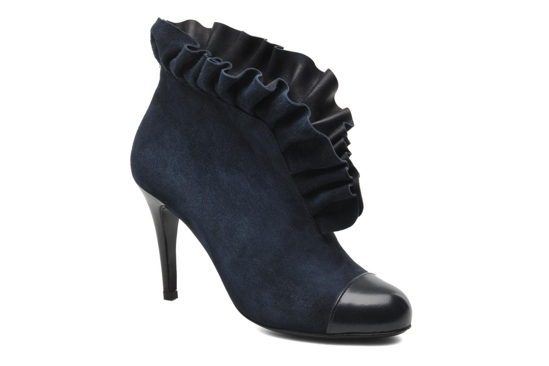 Bottines et boots MySuelly Lola froufrou Bleu vue détail/paire