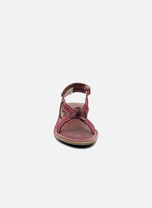 Sandales et nu-pieds El Naturalista Quercus 148 Bordeaux vue portées chaussures