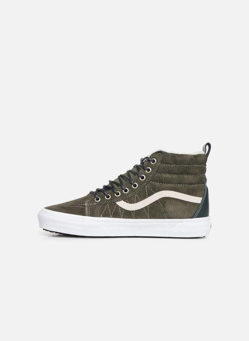 Sneaker Vans SK8-Hi MTE grün ansicht von vorne