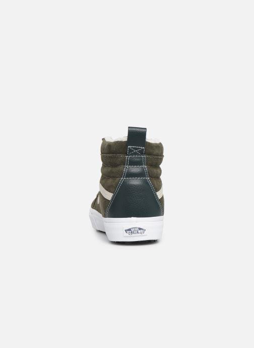 Sneaker Vans SK8-Hi MTE grün ansicht von rechts