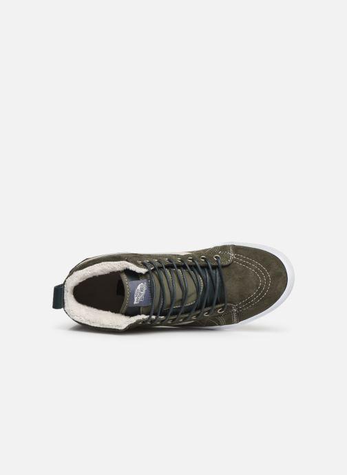 Sneaker Vans SK8-Hi MTE grün ansicht von links