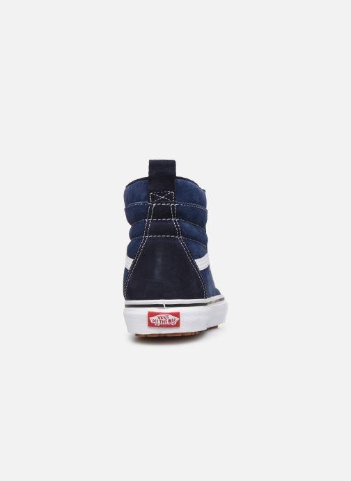 Baskets Vans SK8-Hi MTE Bleu vue droite