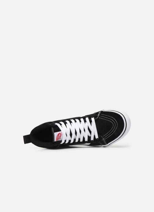 Sneaker Vans SK8-Hi MTE schwarz ansicht von links