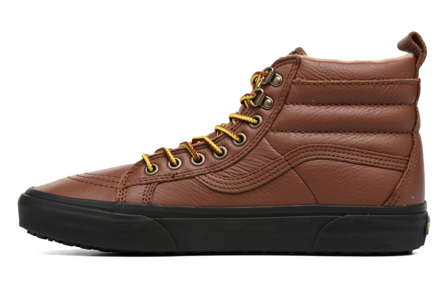 Baskets Vans SK8-Hi MTE Marron vue face