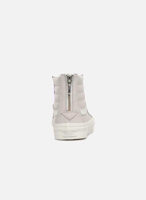 6fc48b4fc1 Vans SK8-Hi Slim Zip (weiß) - Sneaker bei Sarenza.de (346430)