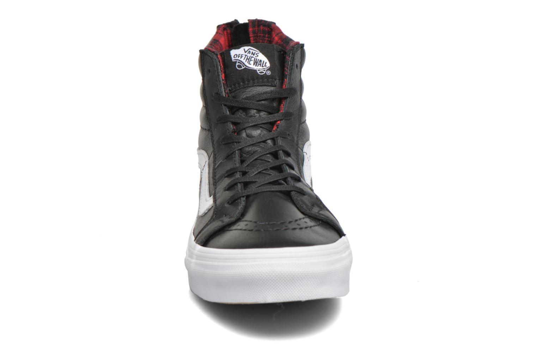 Baskets Vans SK8-Hi Slim Zip Noir vue portées chaussures