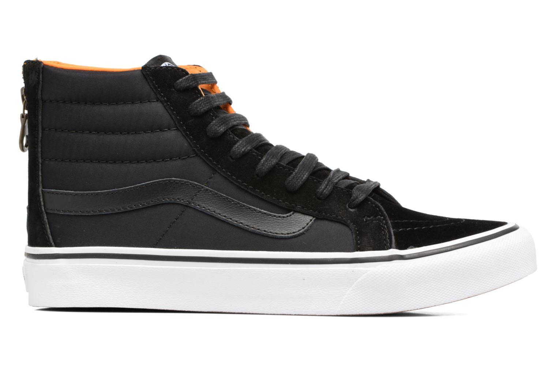 Baskets Vans SK8-Hi Slim Zip Noir vue derrière