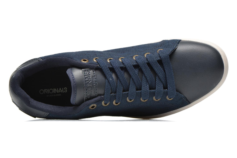 Baskets Jack & Jones JJ Brooklyn Casual Shoe Org Bleu vue gauche