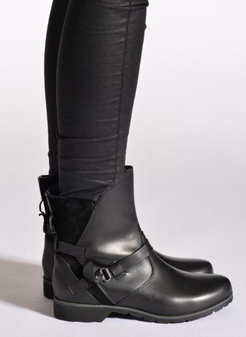 Bottines et boots Teva De La Vina Low W Noir vue bas / vue portée sac