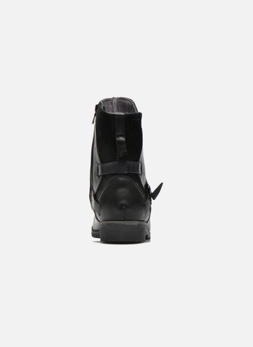 Bottines et boots Teva De La Vina Low W Noir vue droite