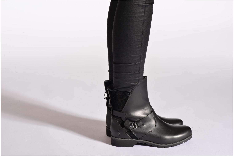 Bottines et boots Teva De La Vina Low W Marron vue bas / vue portée sac