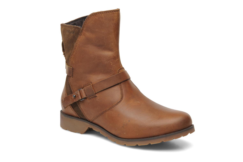 Bottines et boots Teva De La Vina Low W Marron vue détail/paire