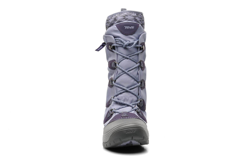 Chaussures de sport Teva Jordanelle 3 WP W Violet vue portées chaussures
