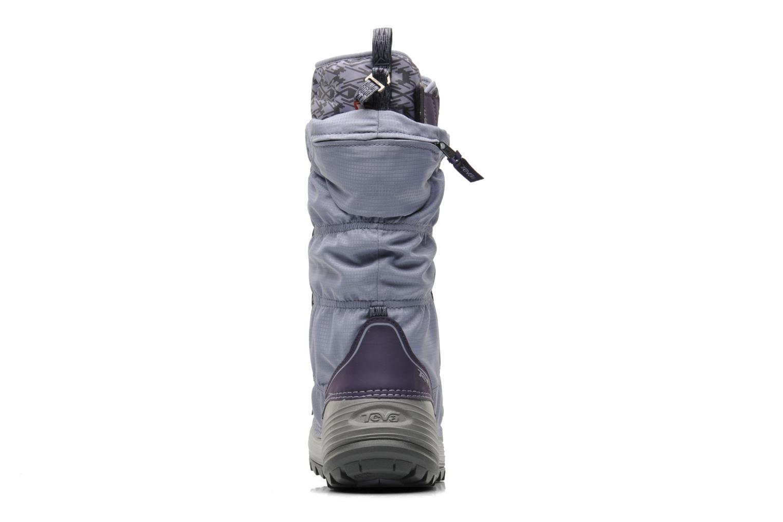 Chaussures de sport Teva Jordanelle 3 WP W Violet vue droite
