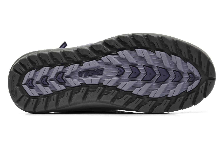 Chaussures de sport Teva Jordanelle 3 WP W Violet vue haut