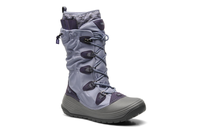 Chaussures de sport Teva Jordanelle 3 WP W Violet vue détail/paire