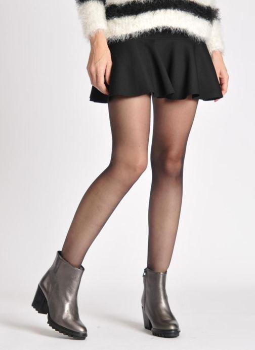 Roisin Bottines Et Leather Swear Boots Metallic SUzMpV