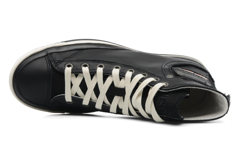 Sneakers Diesel Exposure IV W Nero immagine sinistra