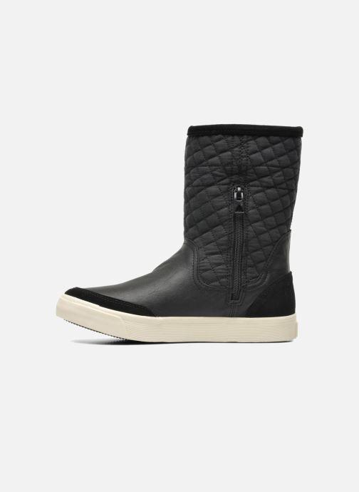 Boots en enkellaarsjes G-Star Plateau Ripley Mix Zwart voorkant