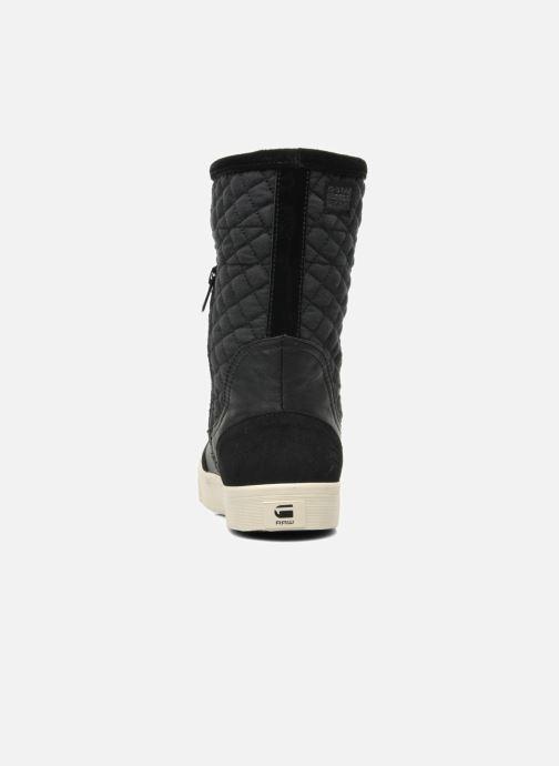 Boots en enkellaarsjes G-Star Plateau Ripley Mix Zwart rechts