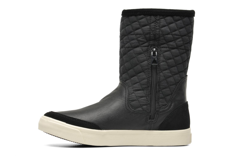 Bottines et boots G-Star Plateau Ripley Mix Noir vue face