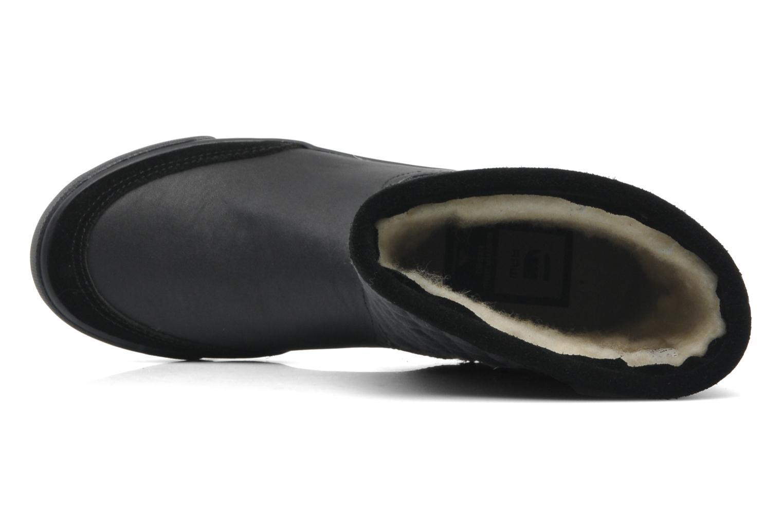 Bottines et boots G-Star Plateau Ripley Mix Noir vue gauche
