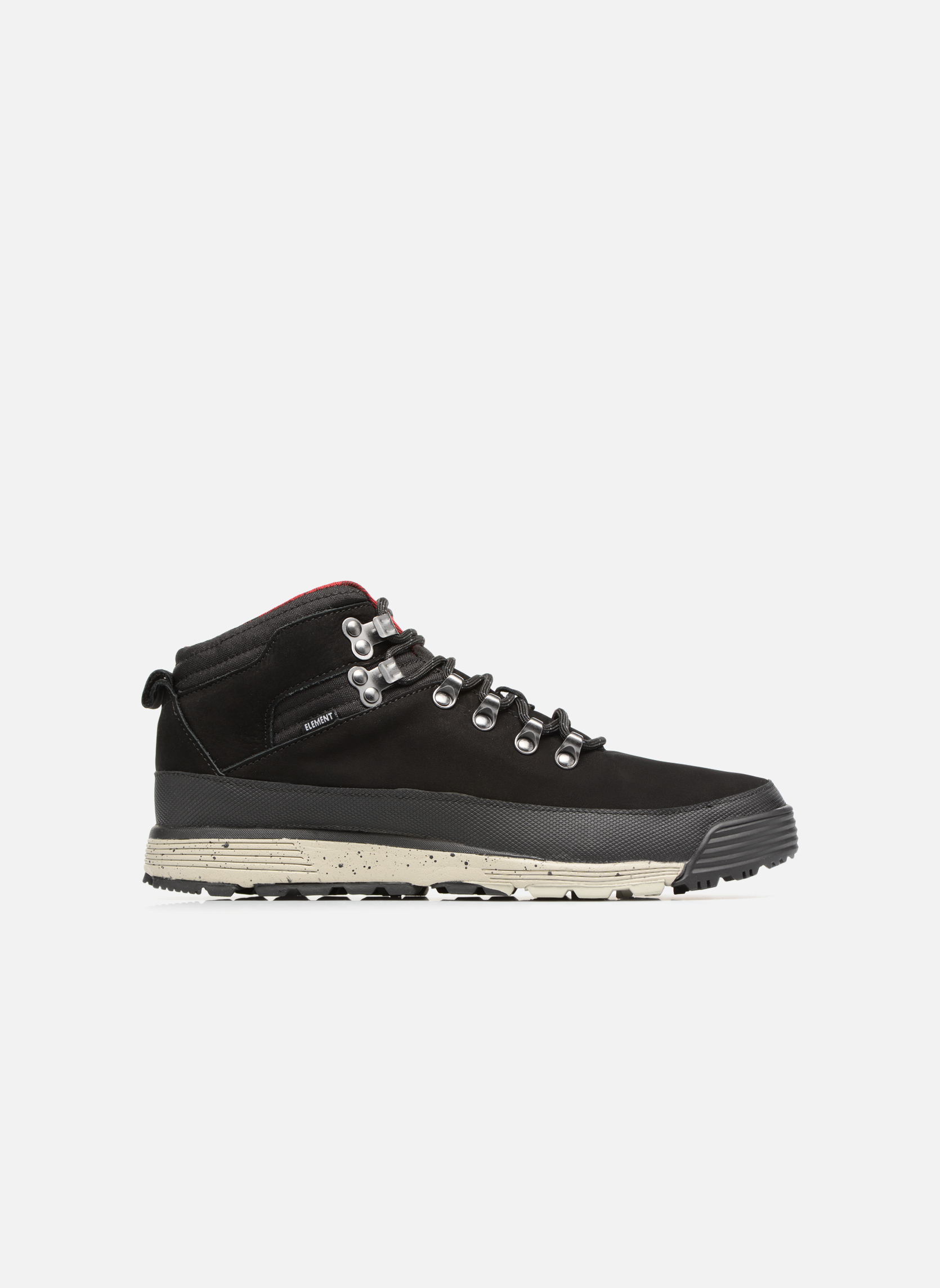 Chaussures à lacets Element Donnelly Noir vue derrière