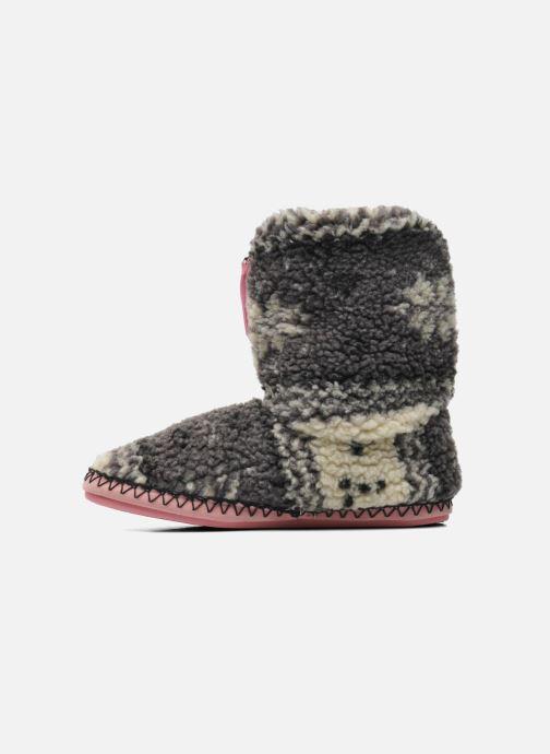 Pantofole BEDROOM ATHLETICS Jessica Grigio immagine frontale