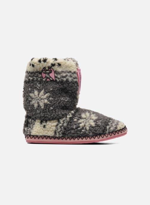 Pantofole BEDROOM ATHLETICS Jessica Grigio immagine posteriore