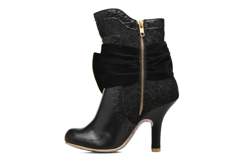 Bottines et boots Irregular Choice Rosie Lea Noir vue face