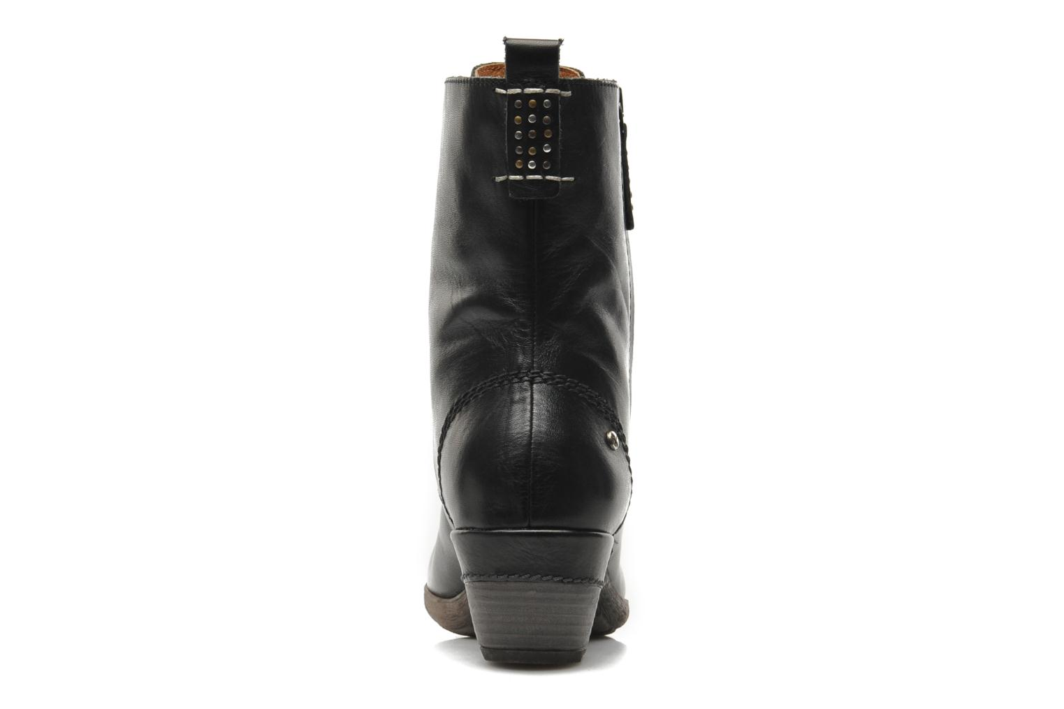 Ankle boots Pikolinos ROTTERDAM 902-7936 Black view from the right